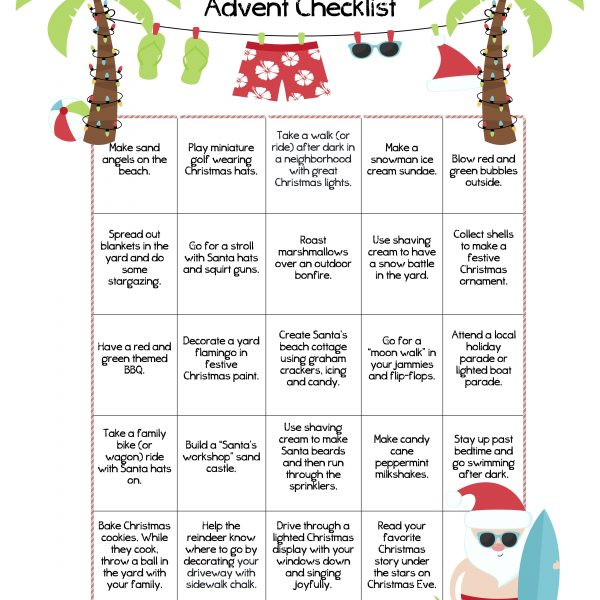 24 Advent Activities for a Warm Winter Holiday