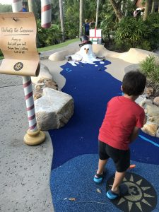 Snowman Mini Golf Hot Christmas