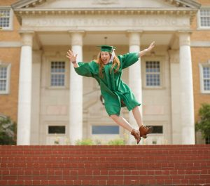 jumping graduate military scholarship dependent