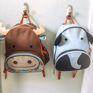 Skip Hop Little Kids Backpack moose elephant