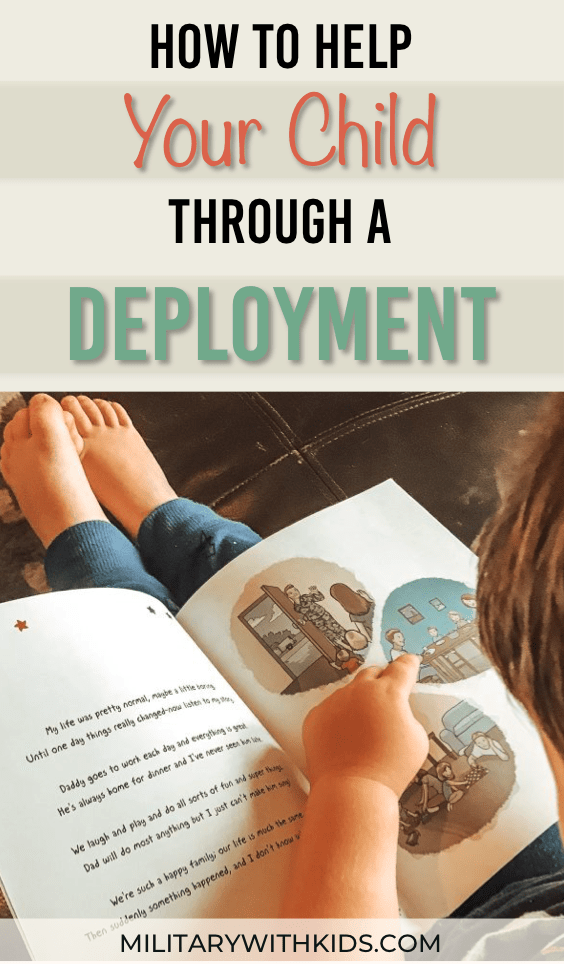 How to help your child through a deployment