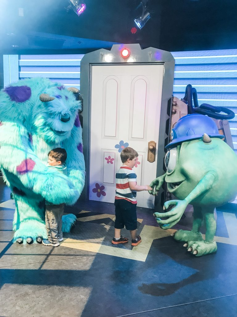 Open the Door to the world of Monsters Inc at Disney World