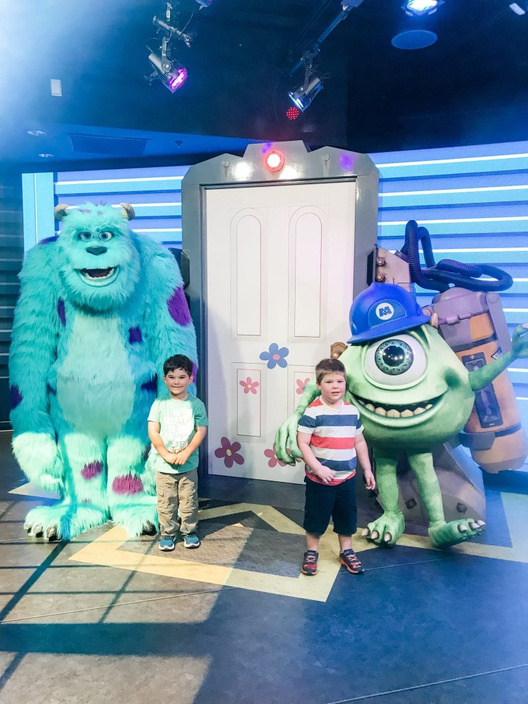 Meet Mike and Sully at Disney World