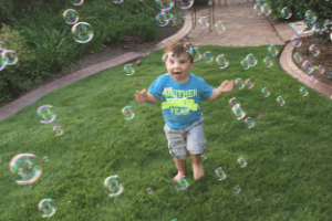 Play Plan: Bubbles Galore Toddler Activity