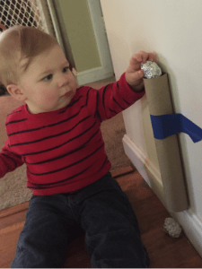 Cheap toddler activity cardboard tube