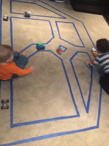 Cheap indoor toddler activity floor road map
