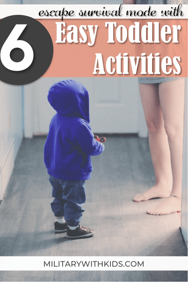 easy toddler activities at home