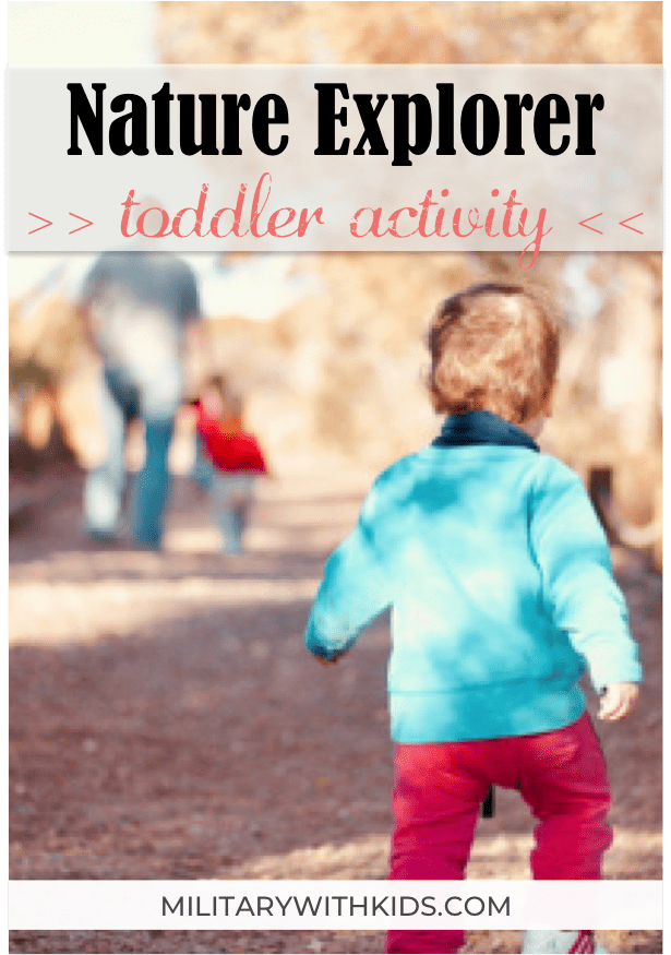 outdoor toddler activity nature explorer