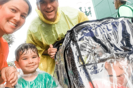 Save money at Disney in the rain
