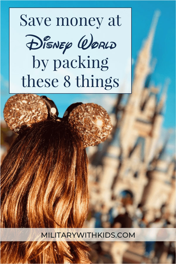 Spend less on your next Disney World Vacation