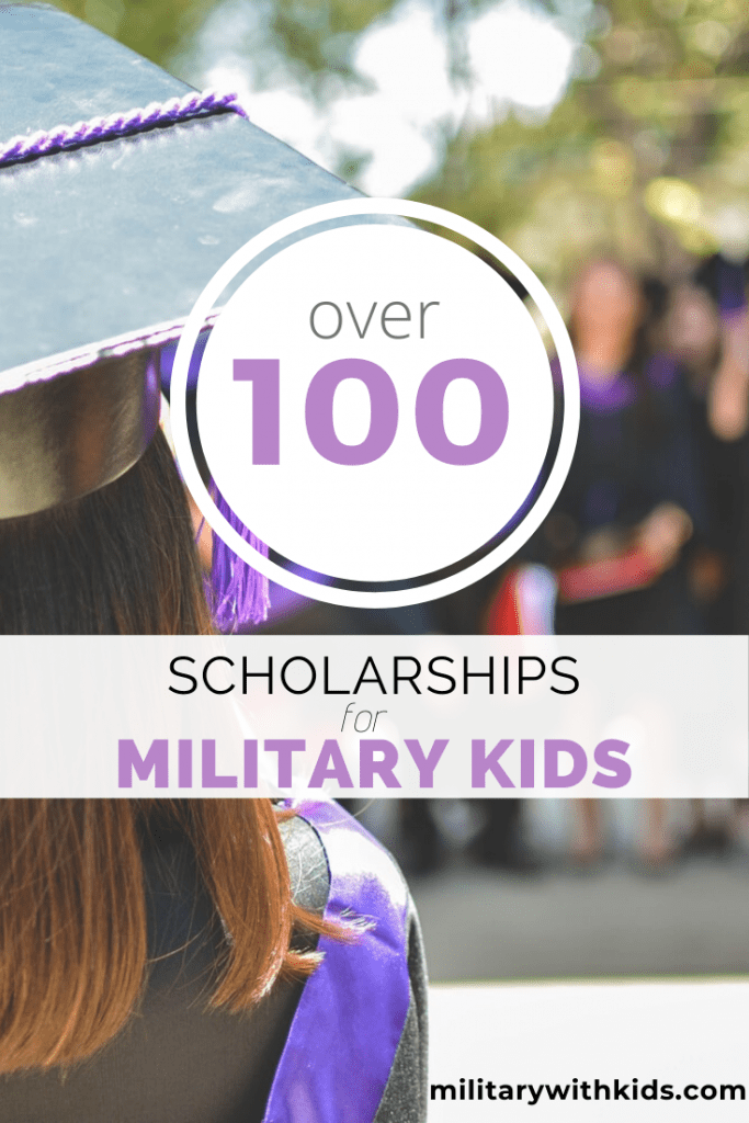 college scholarships military dependents kids air force navy marines coast guard army