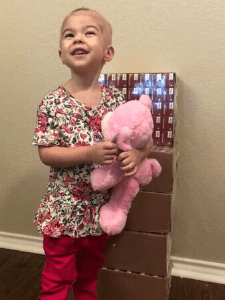 Costco Kids Healthy Foods gift cancer child special request