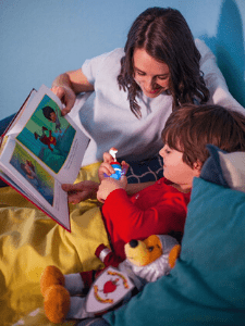 Sir William the Brave Knight kit helps kids sleep better at night