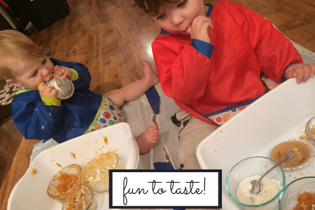 tasty sensory bin thanksgiving activity fun