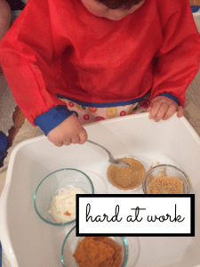 fine motor skill thanksgiving activity