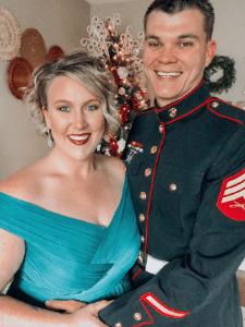 Military Spouse enouragement Grace Shephard