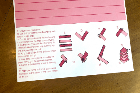 Printable valentine's day craft for kids frog