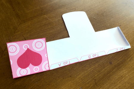 Valentine's day craft for kids step by step