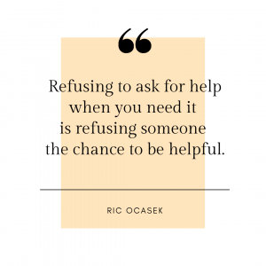 asking for help quote